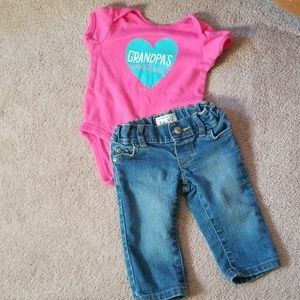 Baby girls 6 month outfit